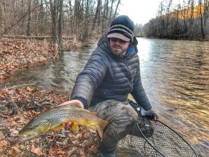 Jackson river tailwater brown trout