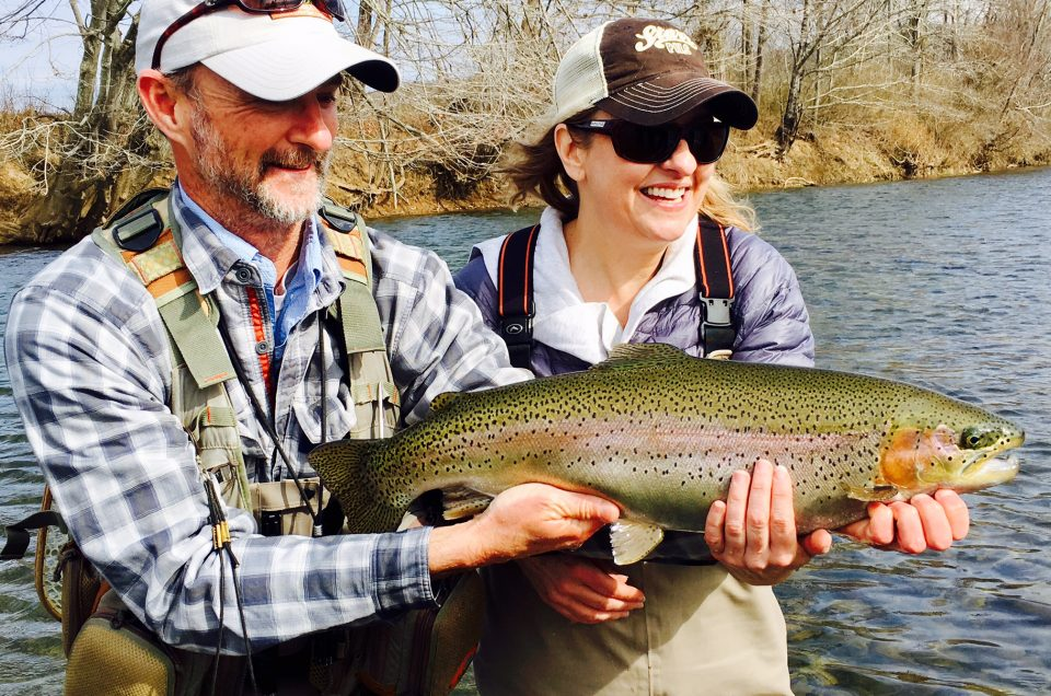 Central Virginia fishing report 2/14/17
